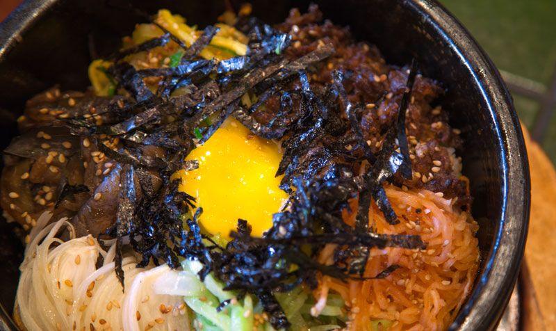 Culinária coreana: dolsot bibimbap
