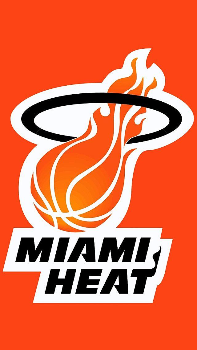 Iphone 5 Wallpapers Hd Retina Ready Stunning Wallpapers Miami Heat Logo Miami Heat Basketball Miami Heat