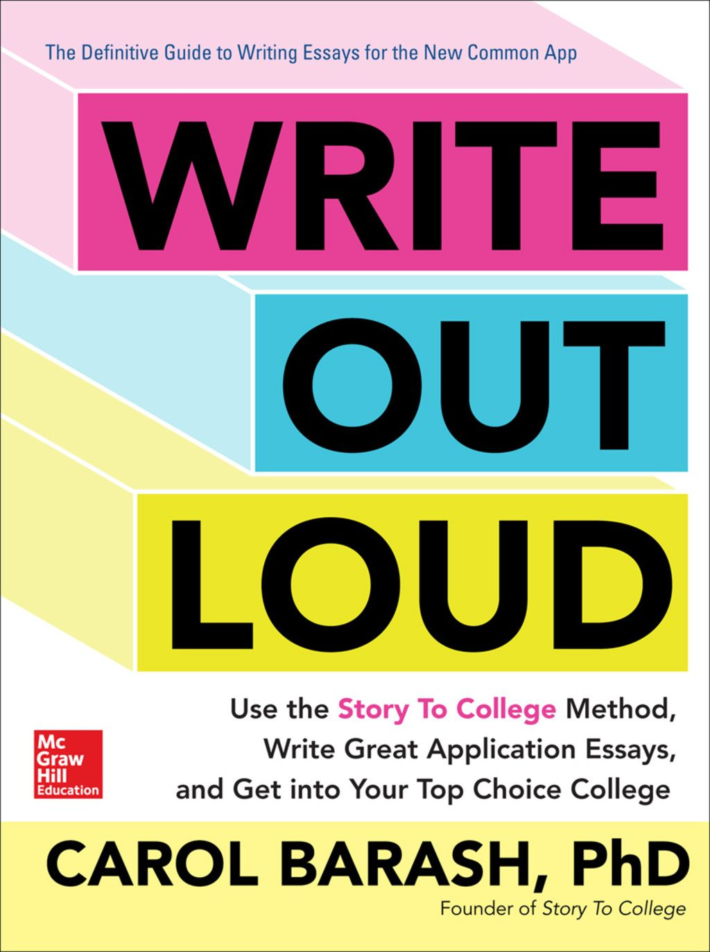 Write Out Loud Use the Story To College Method Write