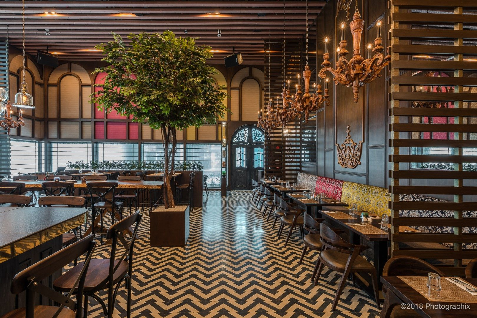 Restaurant Design – When Classic Meets Contemporary