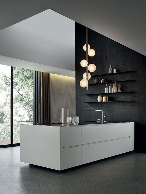Schrankfarbe  Ohne Griff Beispiel kitchen Pinterest Phoenix - küche ohne griffe