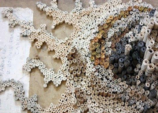 Rolled Paper Art - beautiful!