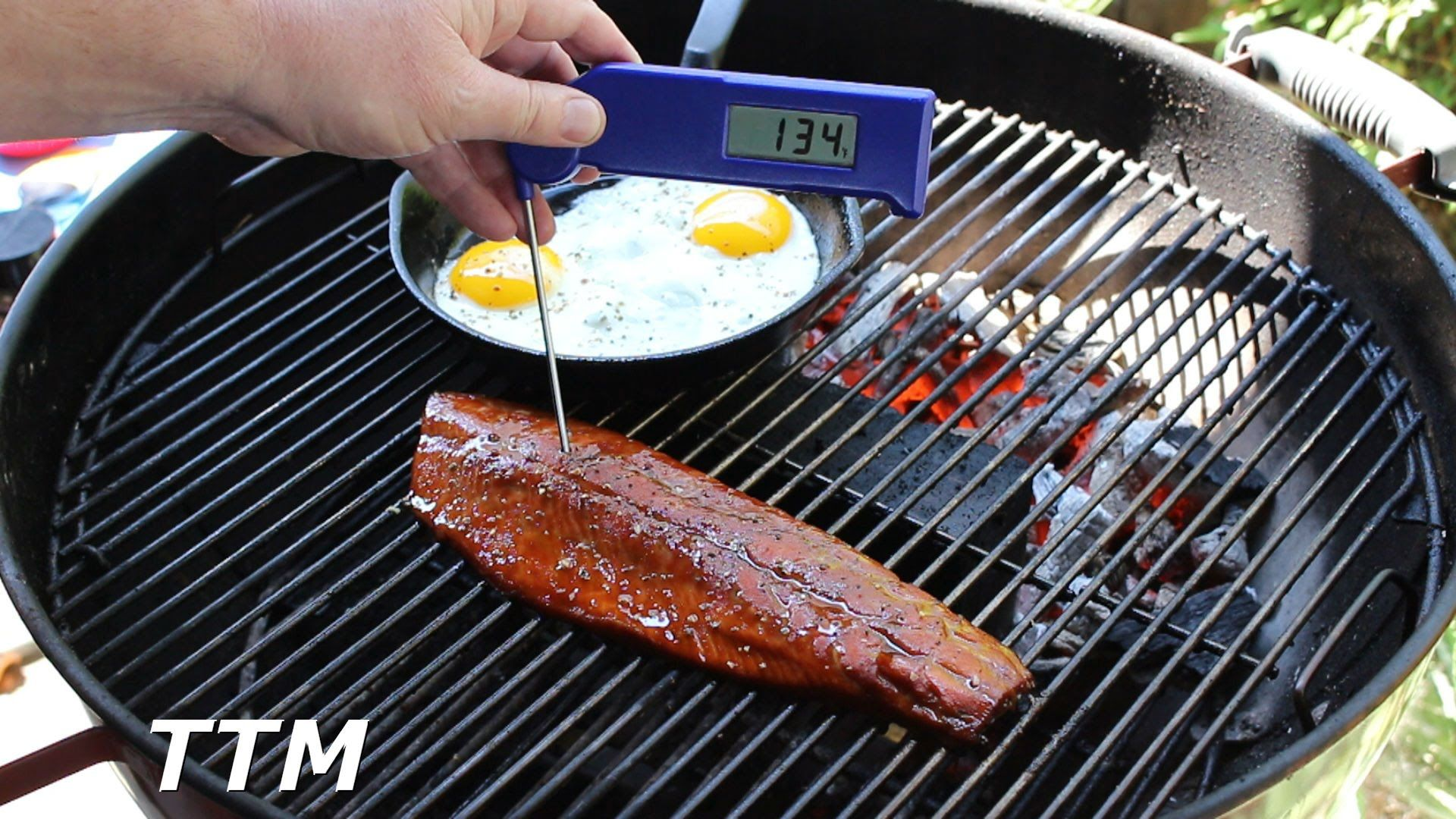 How To Cook Teriyaki Salmon On The Weber Kettle Grill Salmon And Eggs Cooking Salmon Teriyaki Salmon Weber Kettle