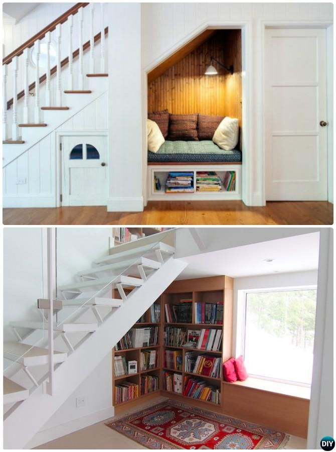 Build In Ideas To Use Space Under Stairs Space Under Stairs