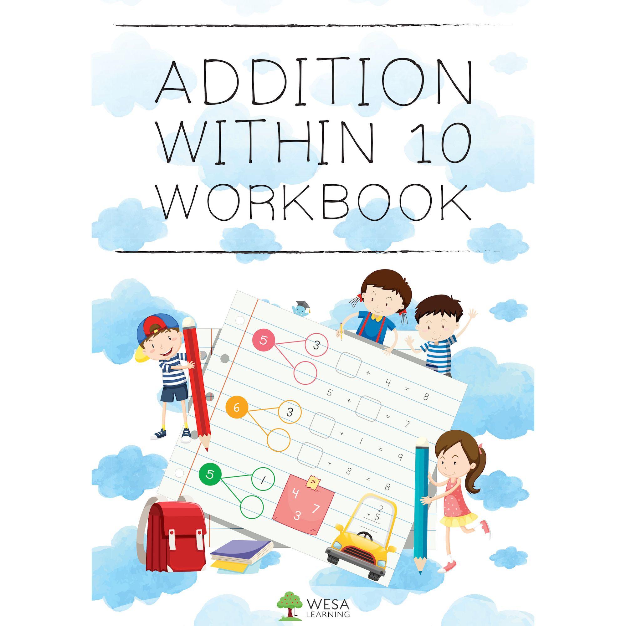 Addition Within 10 Workbook