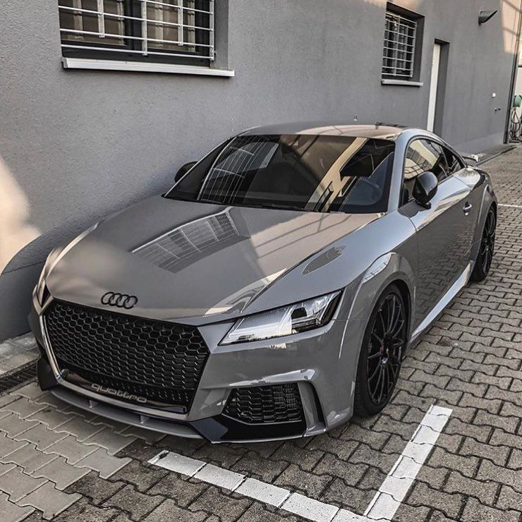 Grey Audi Luxury World Cars - Cars of the day, everyday is the car day! Your daily source of luxury