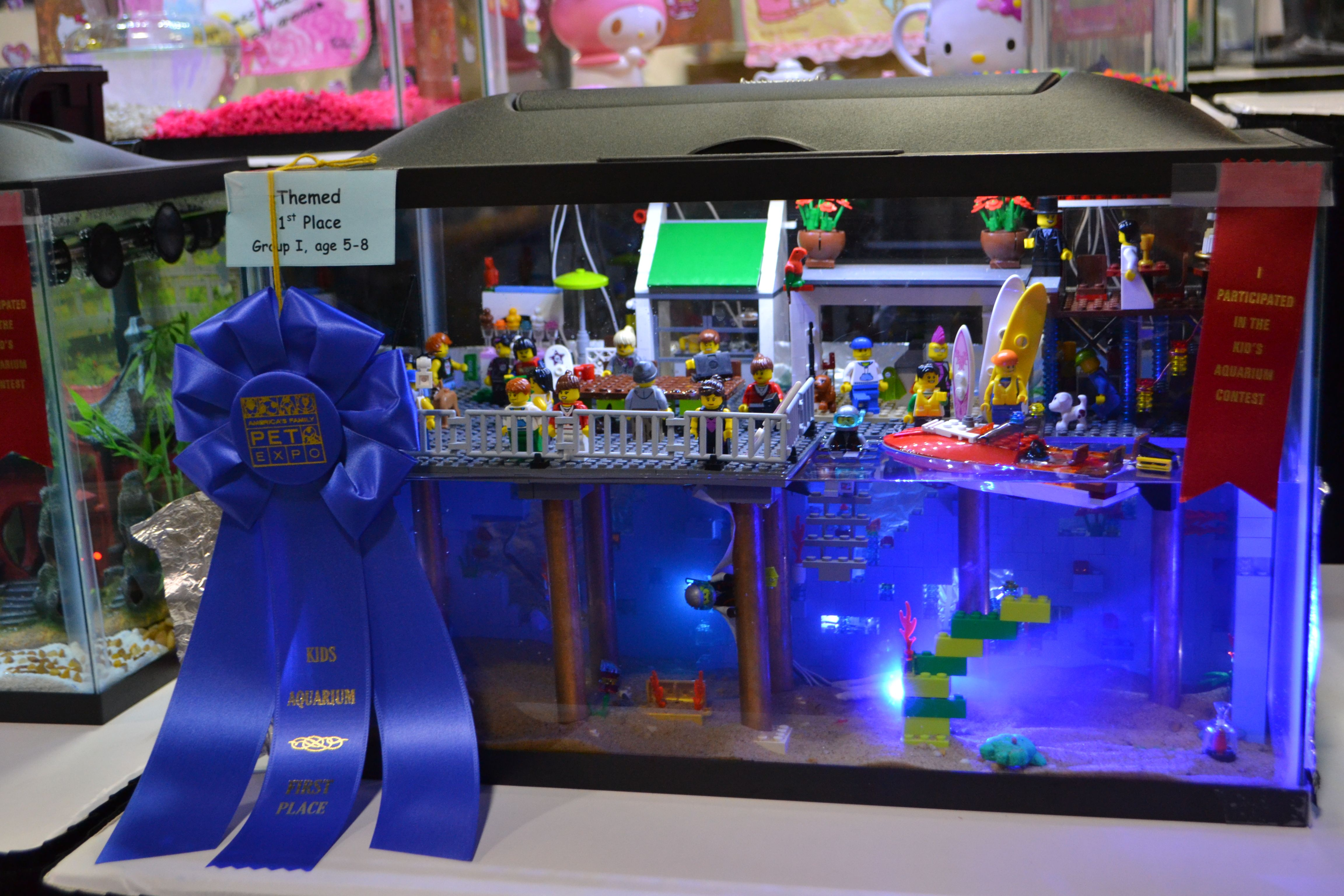 Kids Aquarium Contest Themed Group 1 1st Place Aquarius