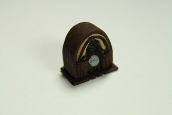 112 Scale Miniature 1930's Style Wooden by BeautifulEarthStudio, $10.00