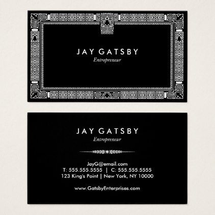 Classic art decoart nouveau business card classic art decoart nouveau business card cyo customize design idea do it solutioingenieria Choice Image