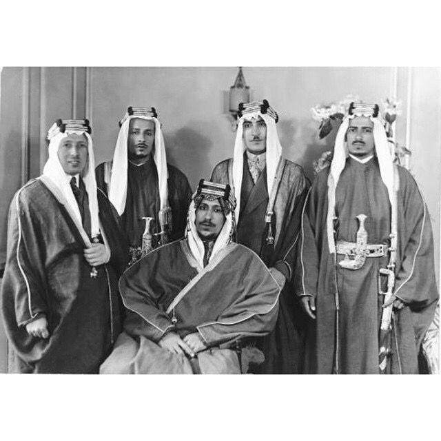 Pin By زنيرة On Saudi Arabia المملكة العربية السعودية Saudi Arabia Culture Old Photography Royal Family