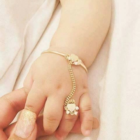 Pin by Jeannette Capdevila on Cosmetics,Shoes, hairstyles, jewelry | Baby  girl jewelry, Baby jewelry, Baby bracelet