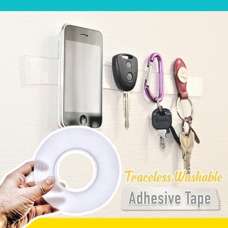 Traceless, Washable & Adhesive Tape Adhesive, Drill set