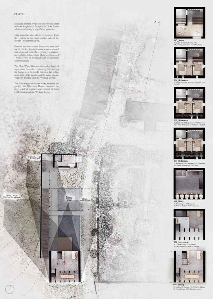 architectural presentation drawings plans google search