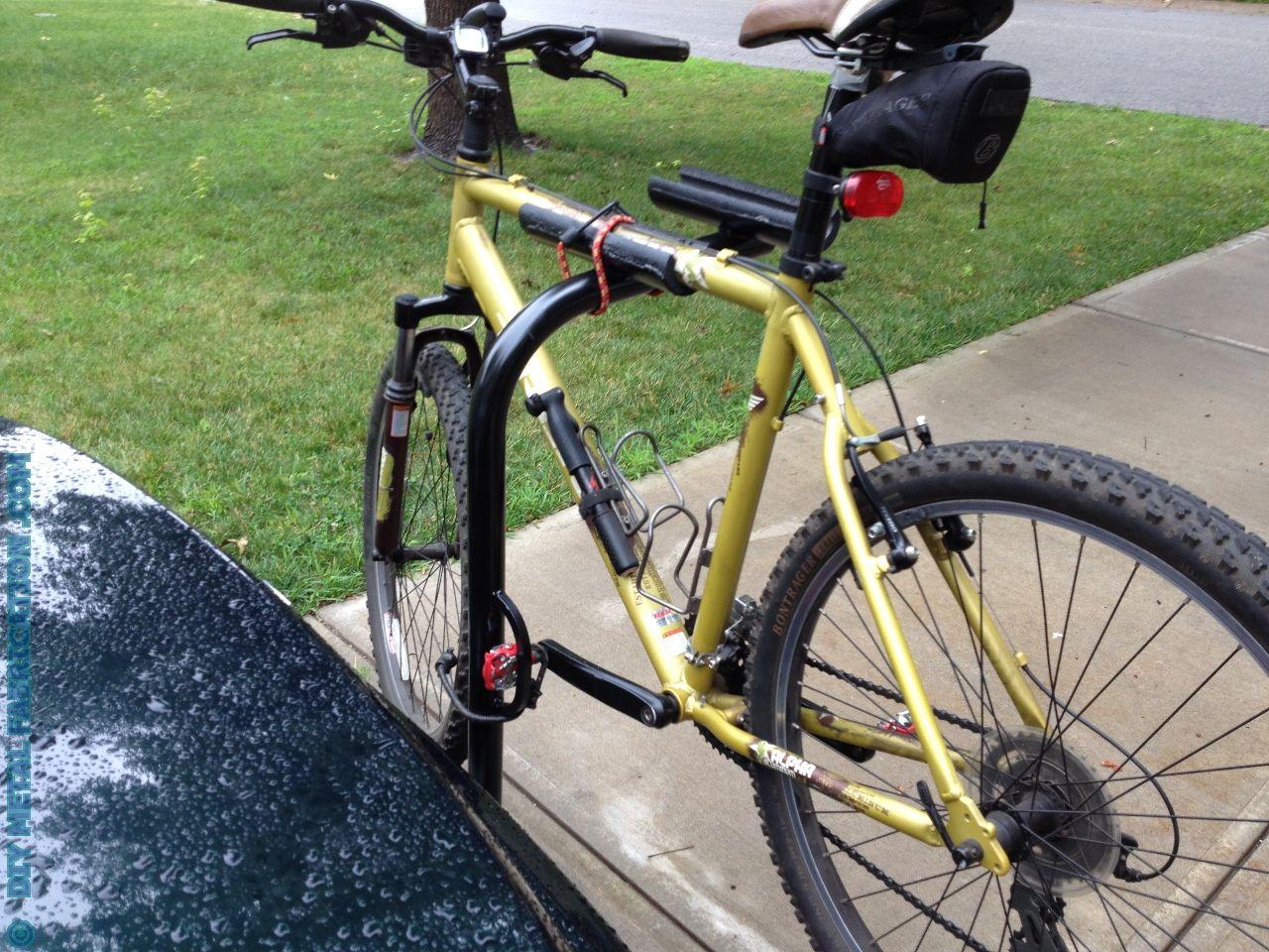 How To Build Receiver Hitch Bike Rack Diy Bike Rack Hitch