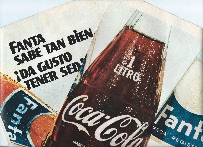 vintage vintage ads from spain   Vintage ads from 1971 - Fanta and Coca-Cola (Coke) - Retro ads - Spain