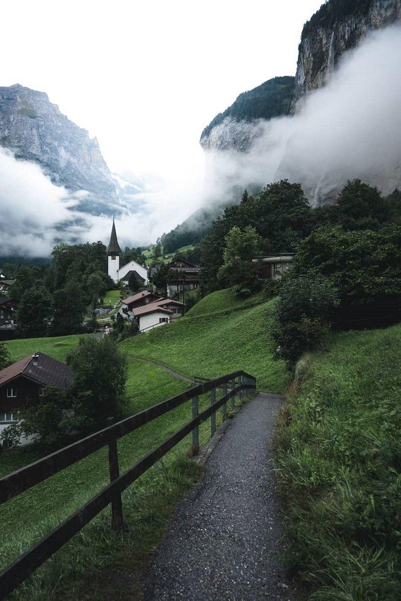 Lauterbrunnen Switzerland By Aron Switzerland Wallpaper Pretty Places Beautiful Nature