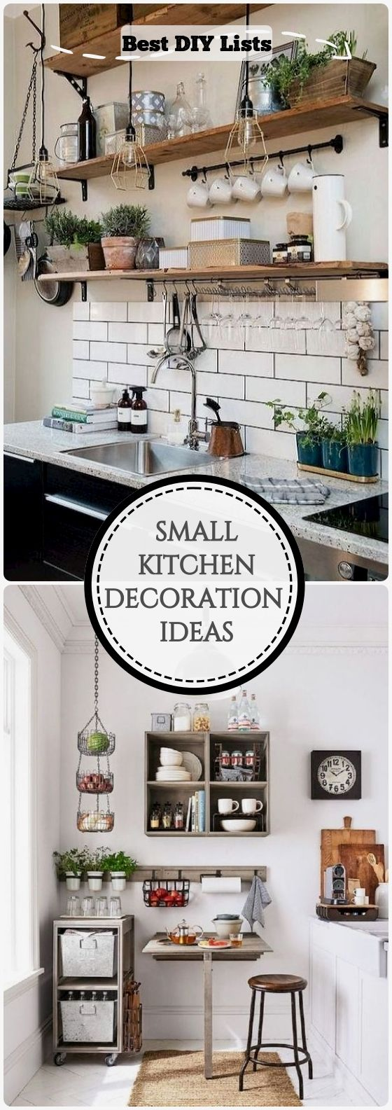 9 Clever Ideas For Small Kitchen Decoration - BEST DIY LISTS in