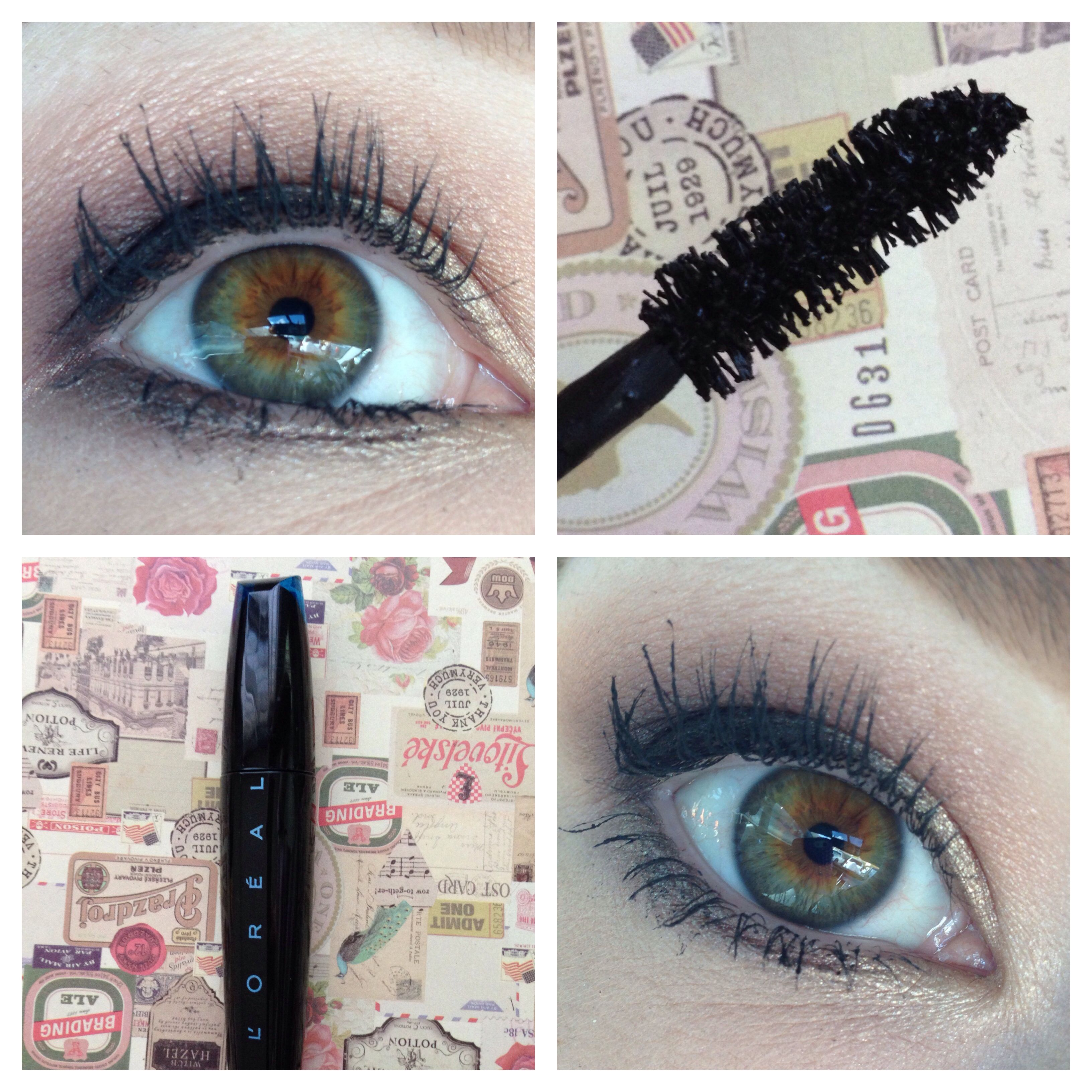 3c13c5831e6 HG status mascara: L'Oreal Voluminous Extra-Volume Collagen mascara. Best  stuff. Ever. Extremely lengthening and gives great volume. Lashes feel  comfortable ...