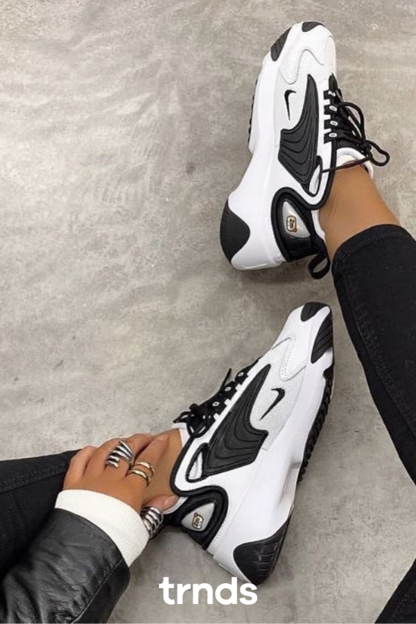 Zoom 2K Women's Shoe. Nike CA in 2020 | Black nike shoes