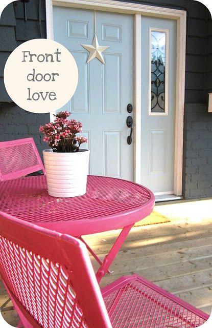 pink bistro set for Lauren's new patio (cross fingers for ...