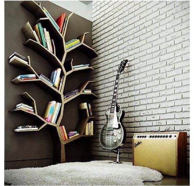 Repisa En Forma De árbol Para Libros Estanterias Originales Disenos De Unas Decoración De Unas