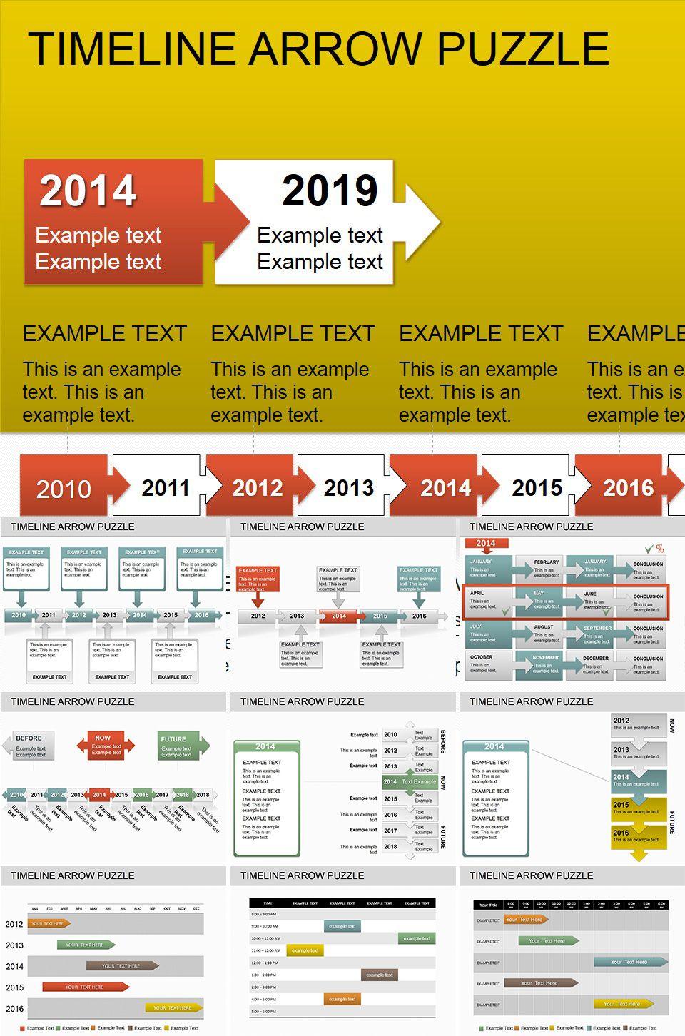 Download timeline arrow puzzle powerpoint diagrams powerpoint download timeline arrow puzzle powerpoint diagrams toneelgroepblik Gallery