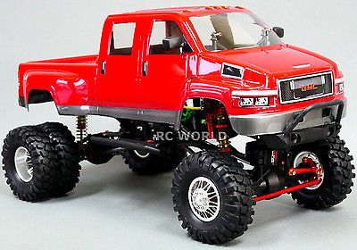 749 99 Custom Axial Scx10 1 10th Rc Truck Gmc Top Kick Dually 4wd 1 9 Rock Crawler Rtr8 Type Trucks Fuel Source Ele Rock Crawler Best Rc Cars Rc Trucks
