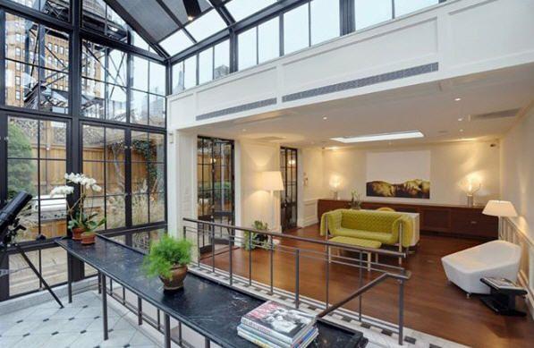 le penthouse esprit loft de thierry mugler dream house living space pent house penthouse. Black Bedroom Furniture Sets. Home Design Ideas