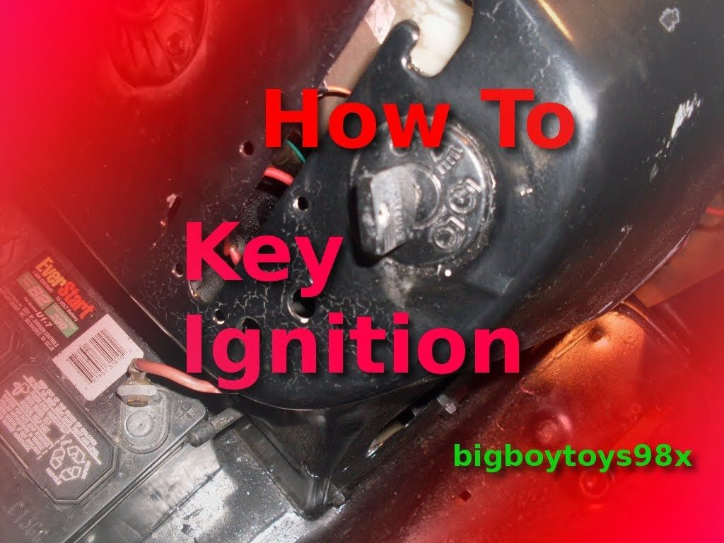 Lawn tractor head gasket repair update youtube - How To Re Wire Your Lawn Mower With Key Igniton
