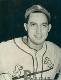 Jesse Danna born March 27, 1918. Outstanding athlete at Jesuit High School where he was all‑city and all‑state in baseball as a southpaw pitcher. He later won fame as a pitcher for the New Orleans Pelicans in the Southern Association (Class AA) between 1941‑45. He holds the distinction of being the Pelicans' last 20‑game winner, compiling a 22‑10 record in 1943.