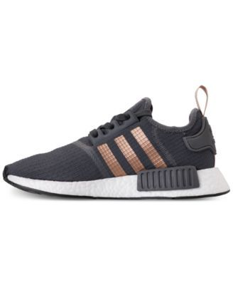 5a102a20a adidas Women s Nmd R1 Casual Sneakers from Finish Line - Gray 9.5