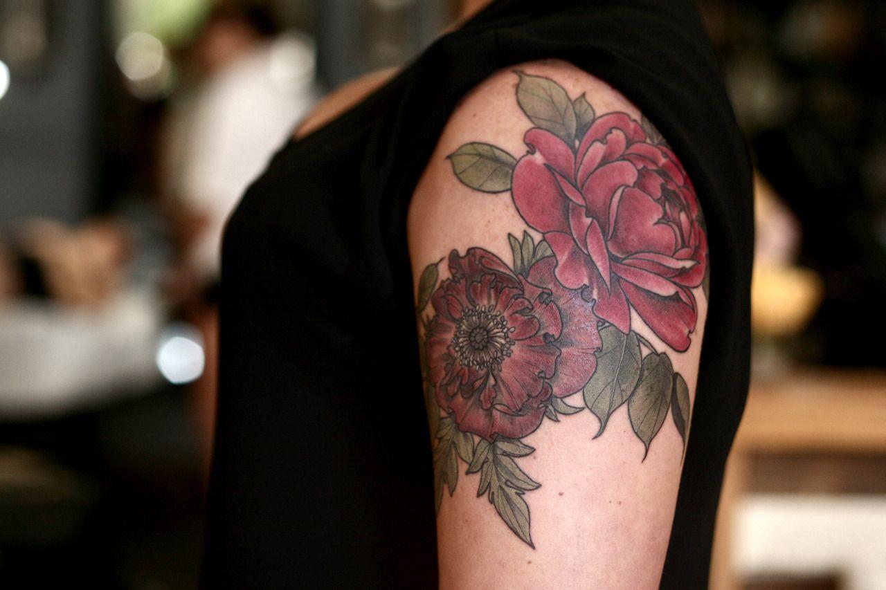 Alice carrier at wonderland tattoo in portland tattoos