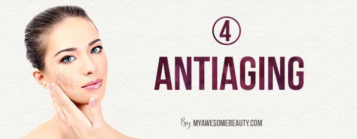 antiaging with witch hazel