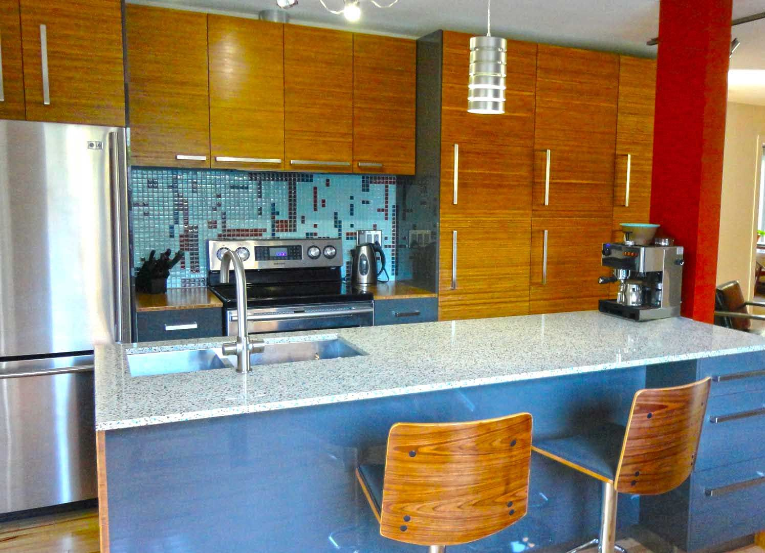 Recycled Glass Kitchen Countertops Professional Oven Gorgeous Ft Geos In