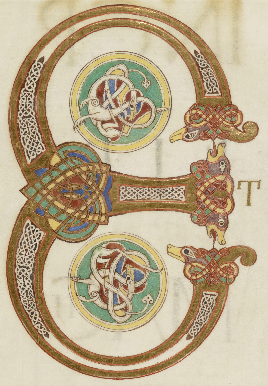Biblia Dite Seconde Bible De Charles Le Chauve Gallica Ezechiel Lettrine Ancien Regime
