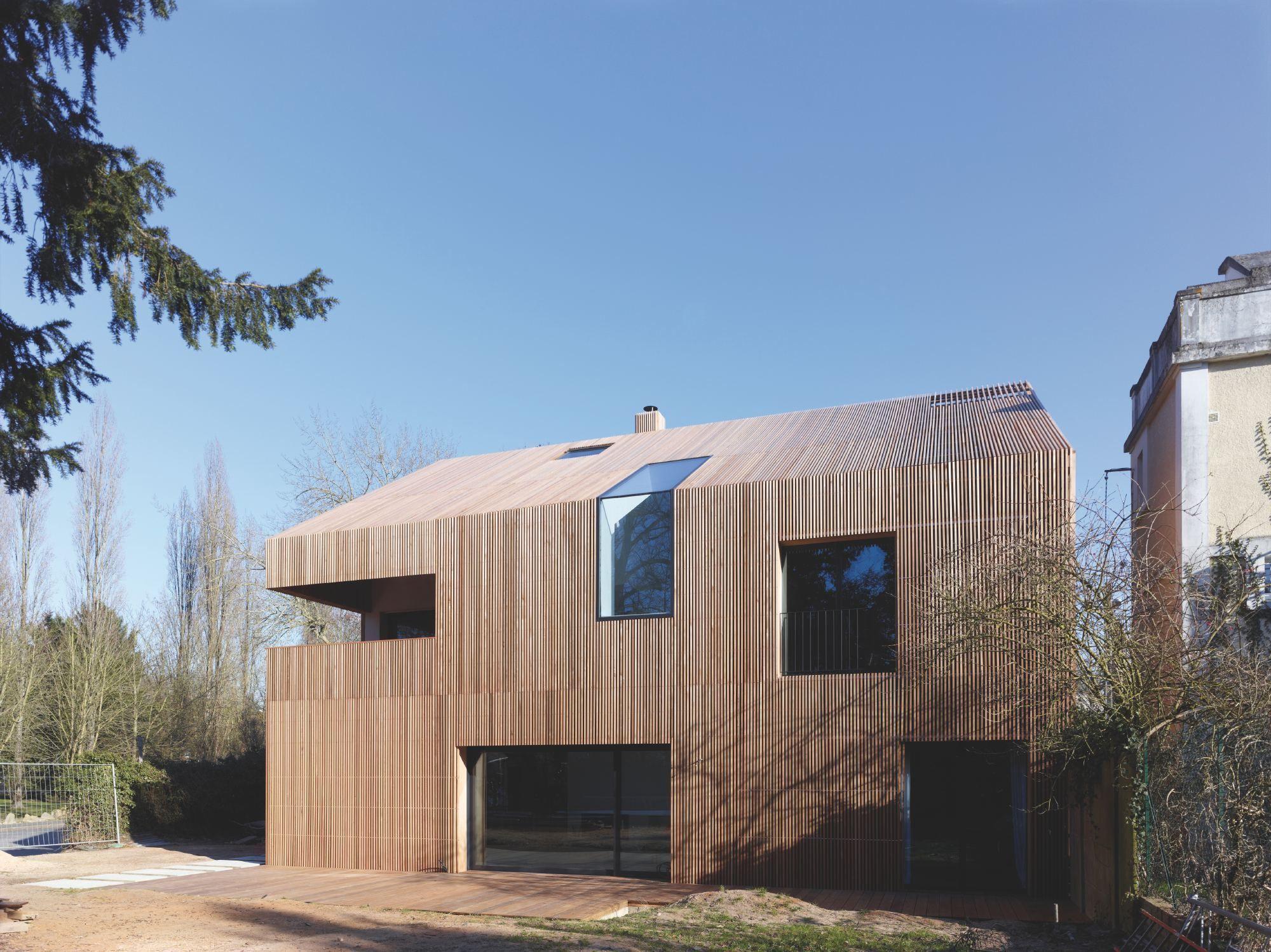 Wohnen in der Landschaft: Kleinode aus Frankreich - Prix Archinovo verliehen #arquitectonico