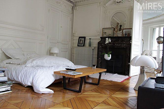 Cognac und Kaffee Wohnung schlafzimmer dekoration