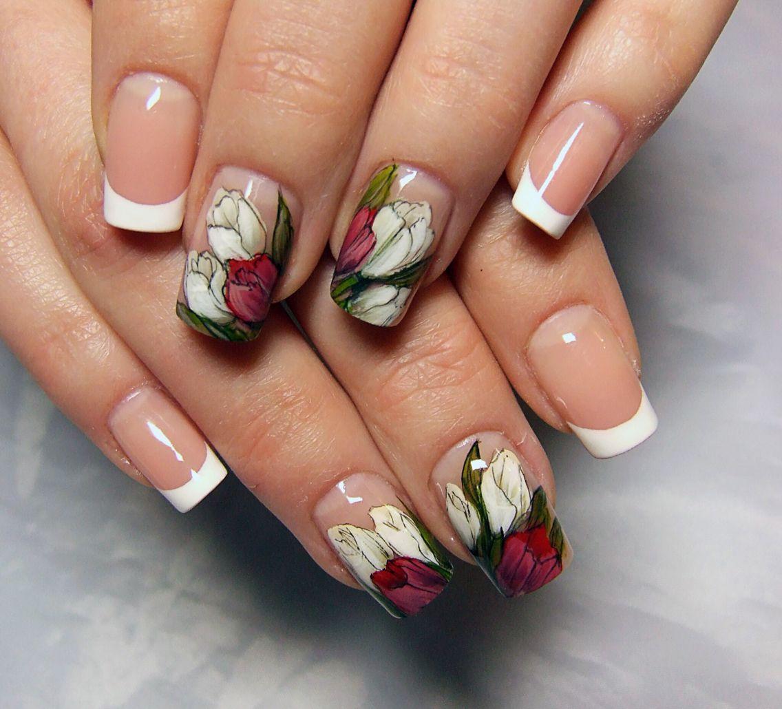 Pin by ivet ivanova on nails pinterest flower nails flower nails art floral flowers beauty tips nailart nail designs hair ideas photos izmirmasajfo