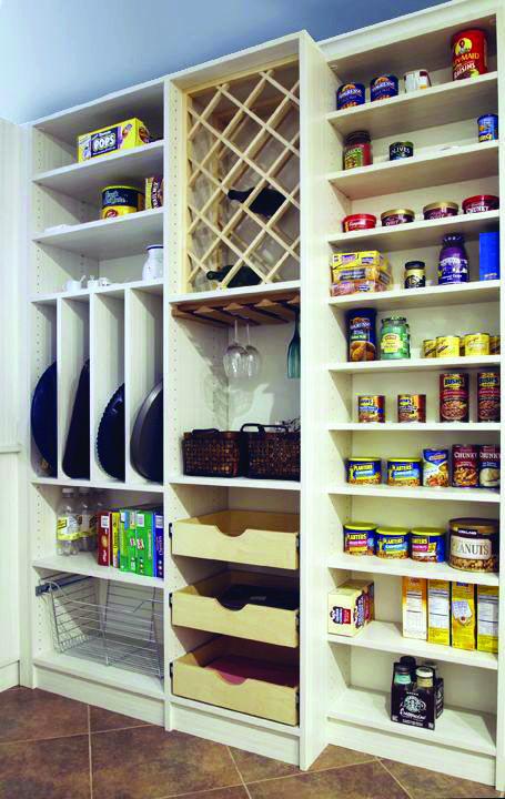 The Most Popular Kitchen Storage Ideas on Houzz #kitchenpantrydesign