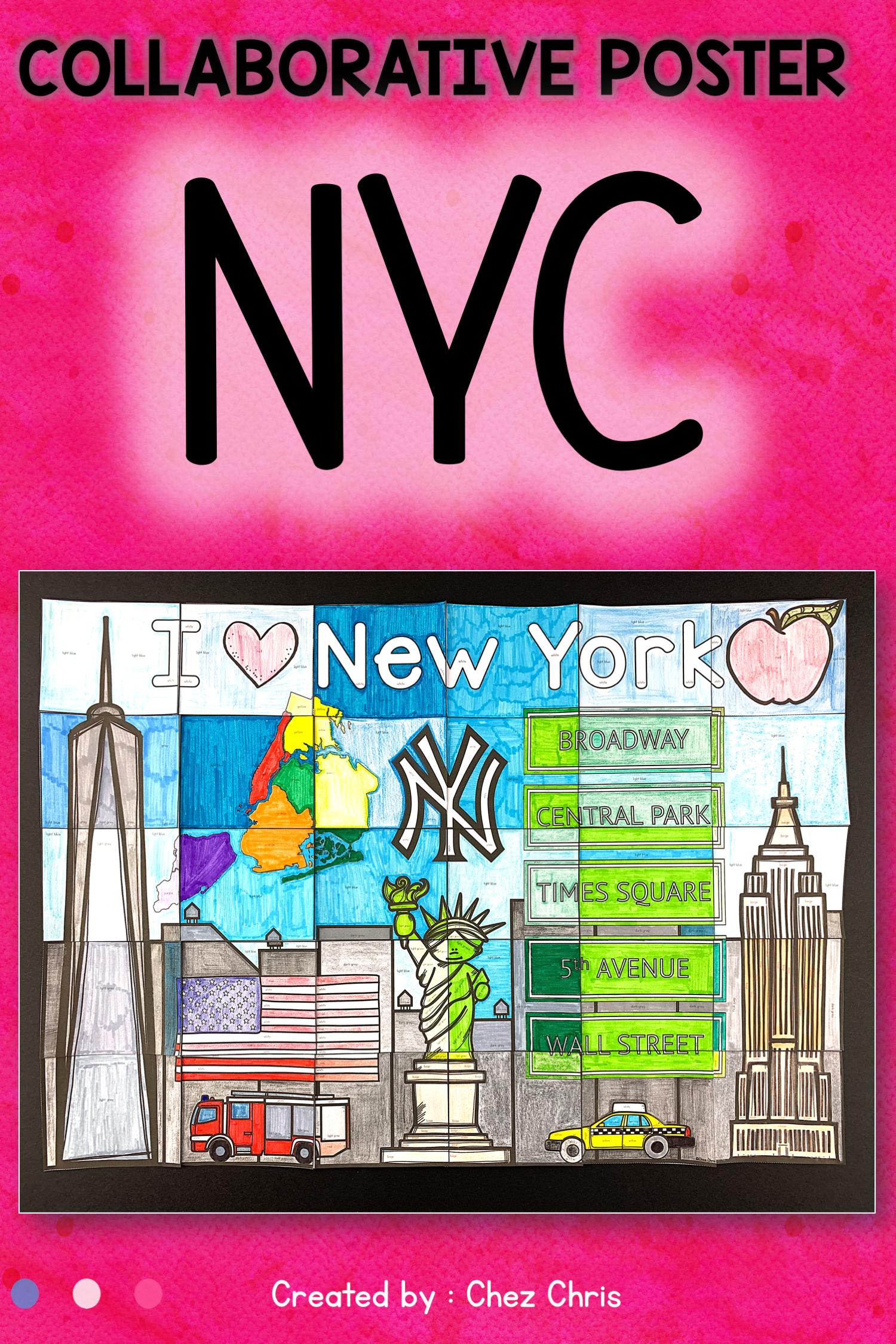 New York City A Collaborative Poster