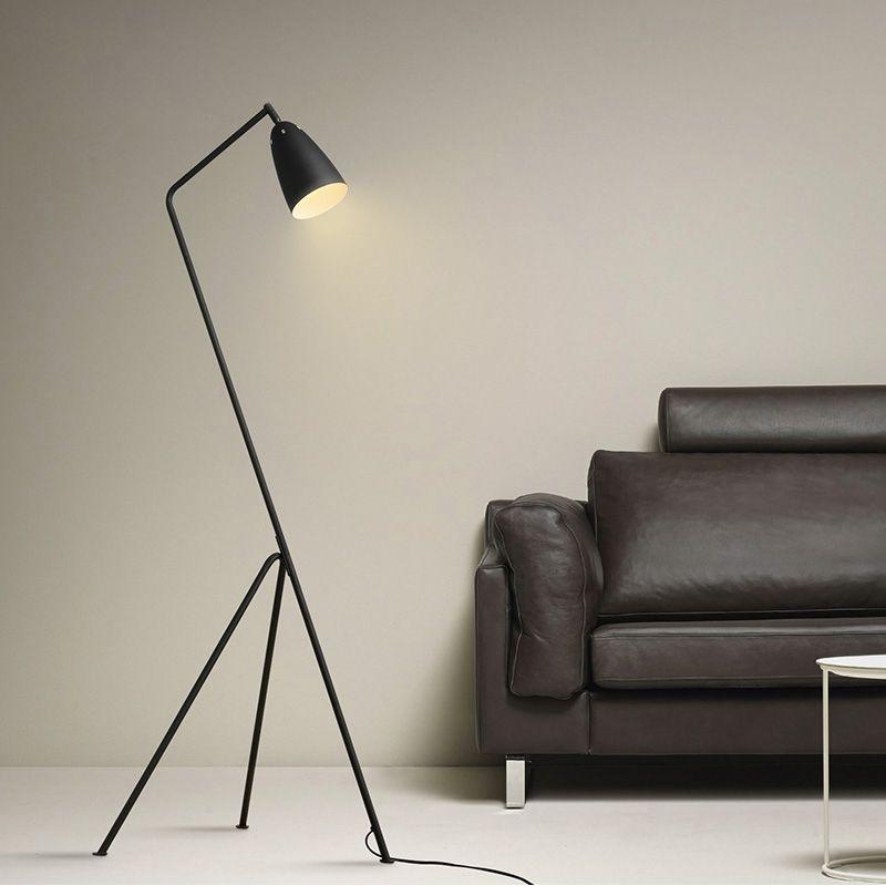 Ac85 265v Modern Floor Lamp E27 Floor Lighting For Living Room Sofa Side Light Study Lamp Fixture Floor Lamp Bedroom Black Floor Lamp Bedroom Lamps Living Room