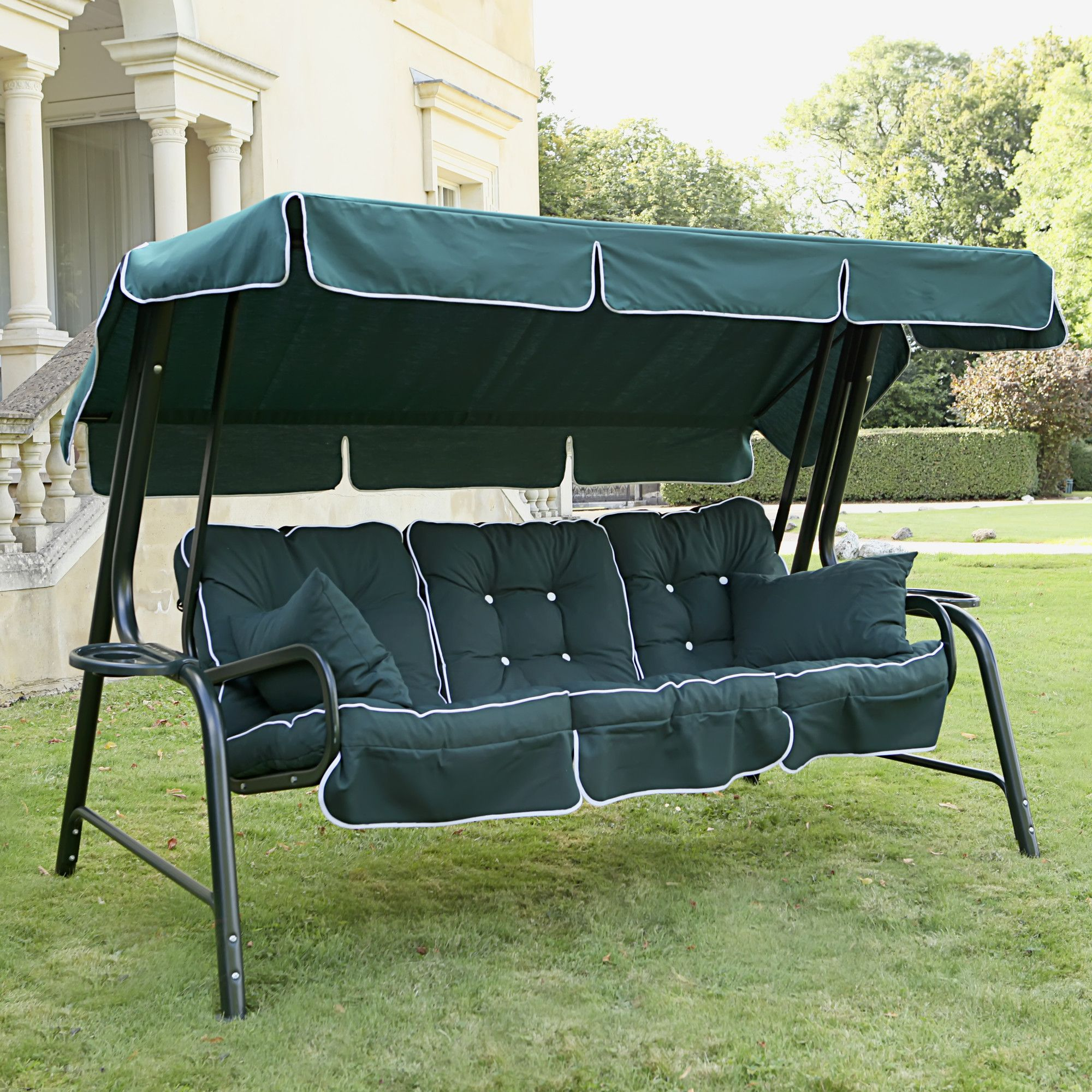 Garden Furniture 2014 Uk swift garden furniture lord boxed and piped swing seat & reviews