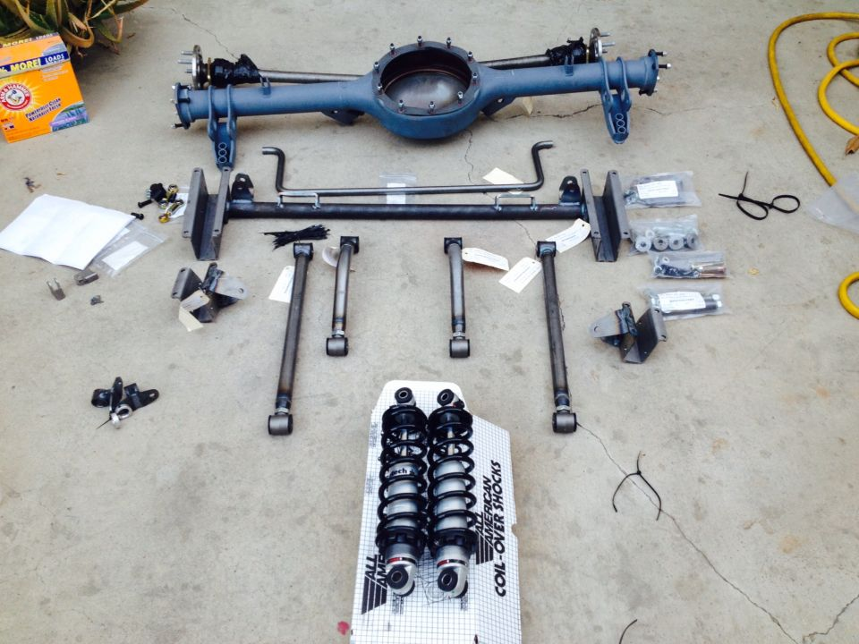 Rear Suspension For My 1969 Ford Mustang Tci 4 Link 9 Inch Rearend Mustang Ford Mustang Custom Build
