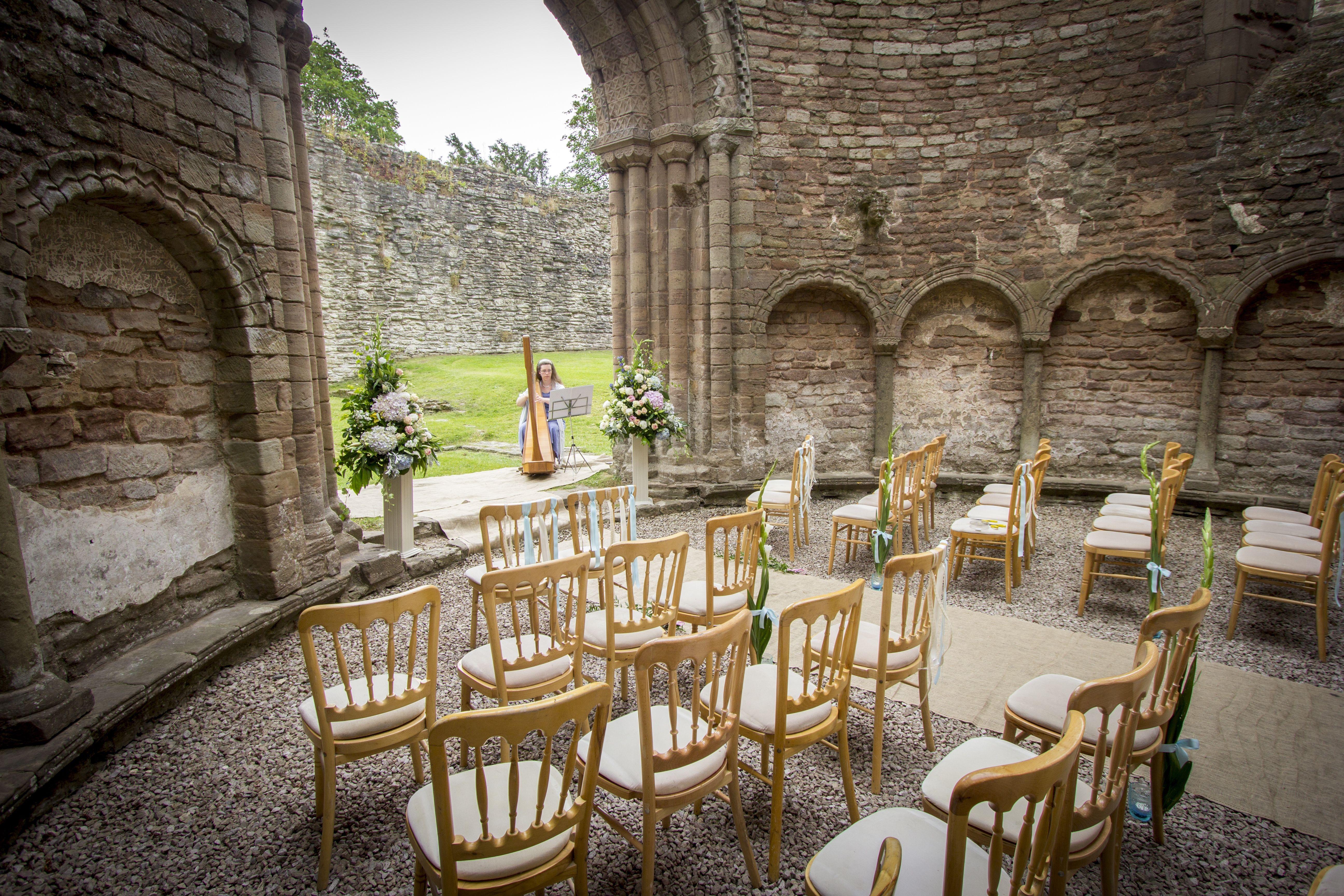 Ludlow Castle Chapel Wedding Venue