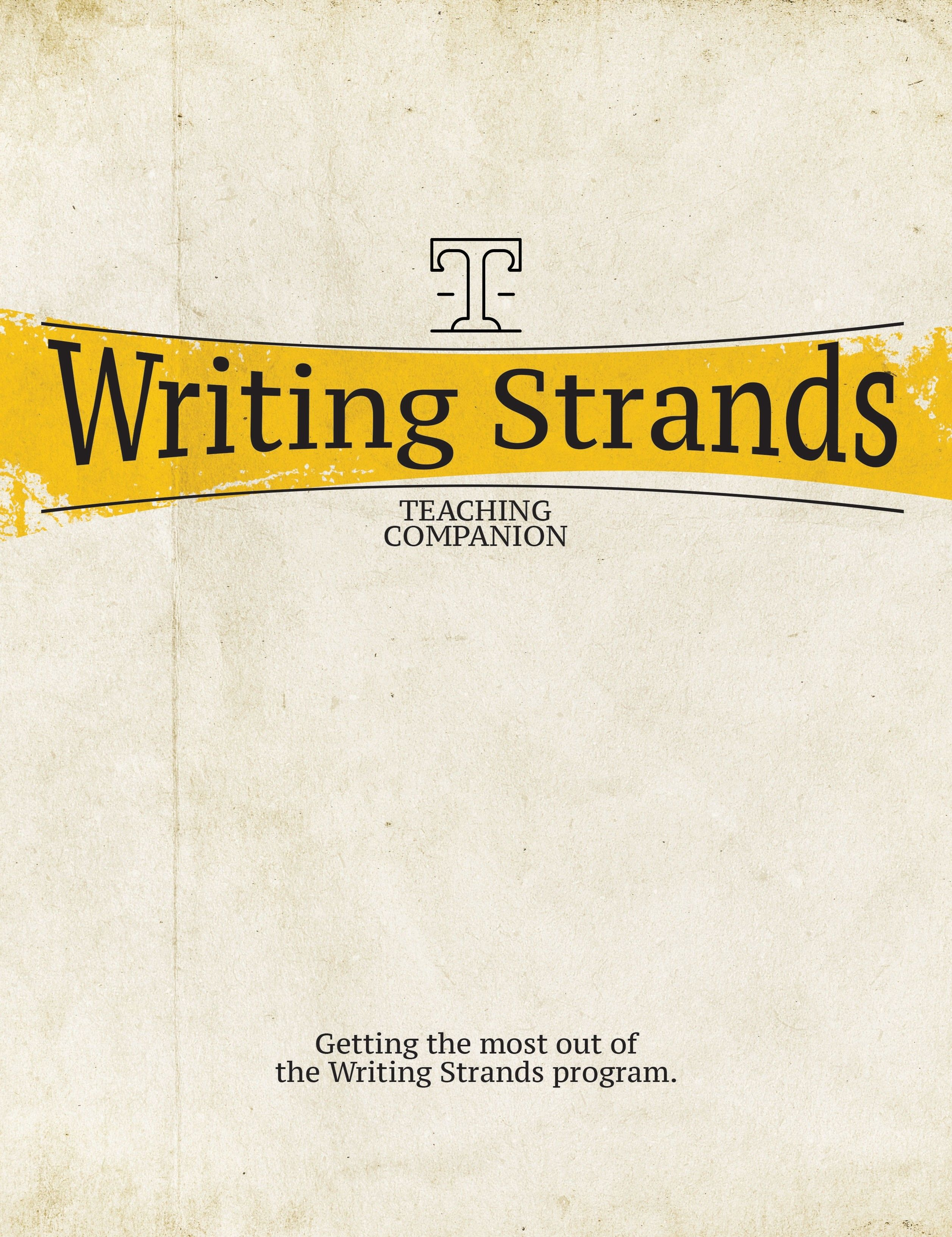 Writing Strands Teaching Companion With Images