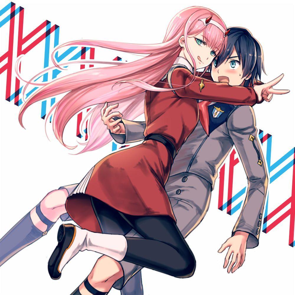 Zero Two Heroes Wiki Fandom In 2020 Darling In The Franxx Anime Anime Chibi
