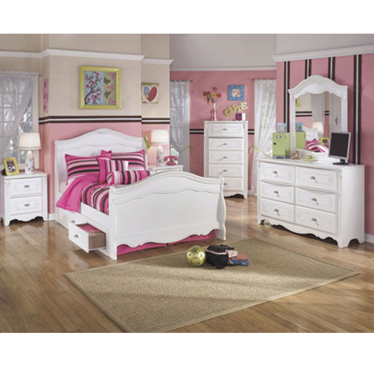Best Princess Full Bed With Storage Girls Bedroom Sets 400 x 300