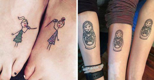 Tatuajes Para Hermanas Tatuajes Originales Para Hermanas Tatuajes