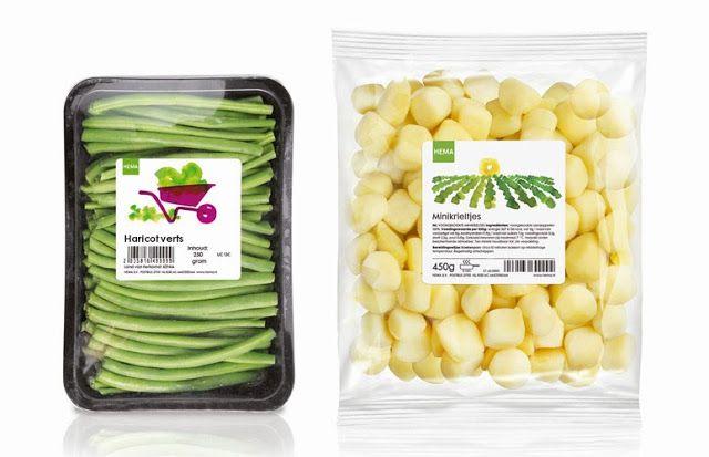Hema Food Packaging Design Vegetable Packaging Fresh Produce Packaging