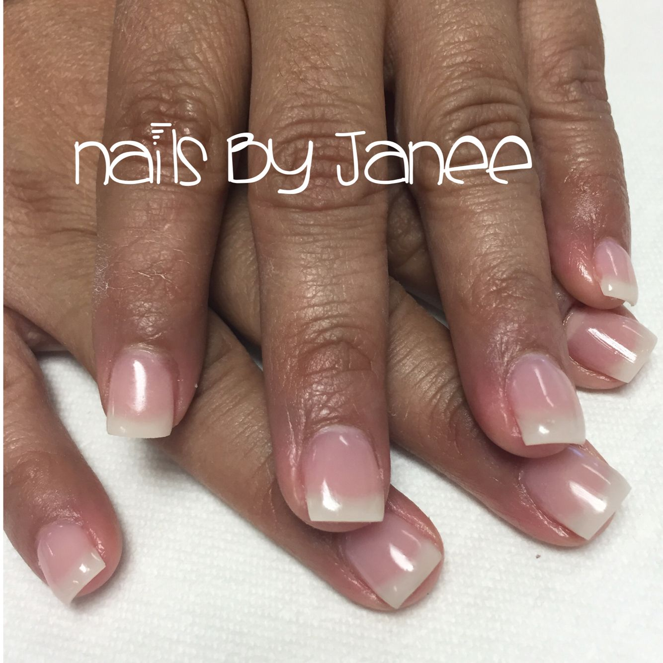 Natural nail gel overlay | Nails by Janee at A Wild Hair Salon Reno ...